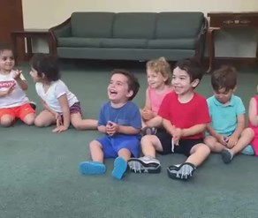Watch: Adorable little boy can't stop laughing