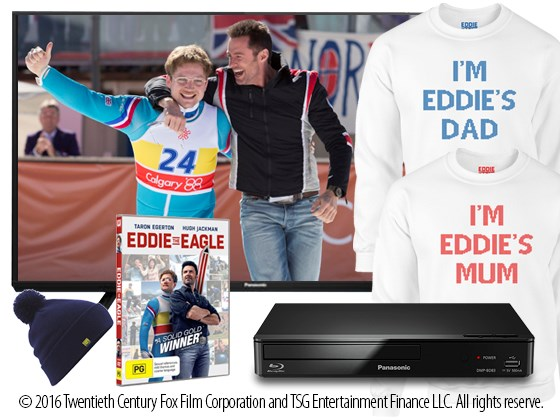 Win a TV & Entertainment Package!