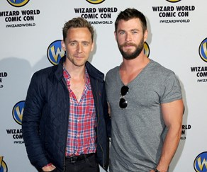 Chris Hemsworth Tom Hiddleston