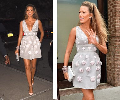 Blake Lively's STUNNING maternity style
