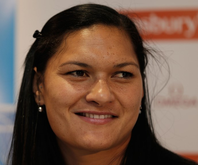 Valerie Adams has just announced she is pregnant.