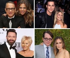 Rita Wilson, Tom Hanks, Freddie Prinze Jr., Sarah Michelle Gellar, Hugh Jackman, deborra lee furness, Matthew Broderick, Sarah Jessica Parker