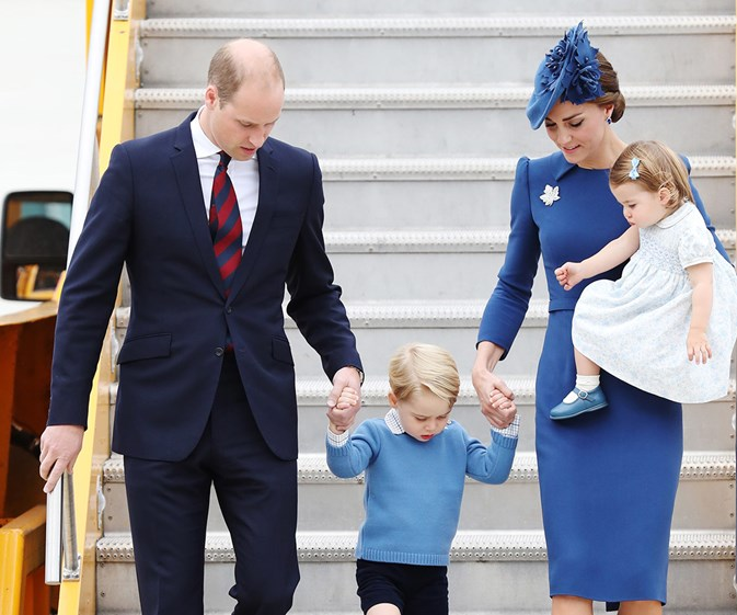 The Cambridges have touched down in Canada for day one of the royal tour