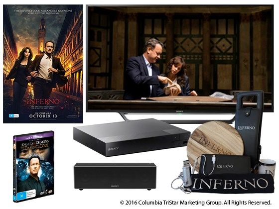 Win an INFERNO Home Entertainment Pack!