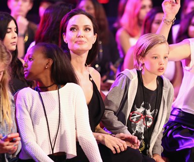 Angelina Jolie and her kids are reportedly in therapy to cope with divorce