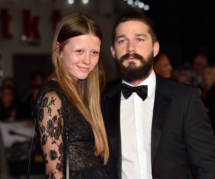**Shia LaBeouf and Mia Goth** The eccentric actor and his long-time love got hitched at famed wedding chapel Viva Las Vegas, accompanied by a hula dancer and an Elvis Presley impersonator who officiated the nuptials. The ceremony itself was live-streamed on *TMZ*.