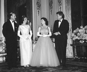 The Queen and John F. Kennedy