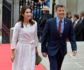 Prince Frederik and Princess Mary