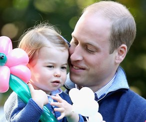 Prince William and Princess Charlotte