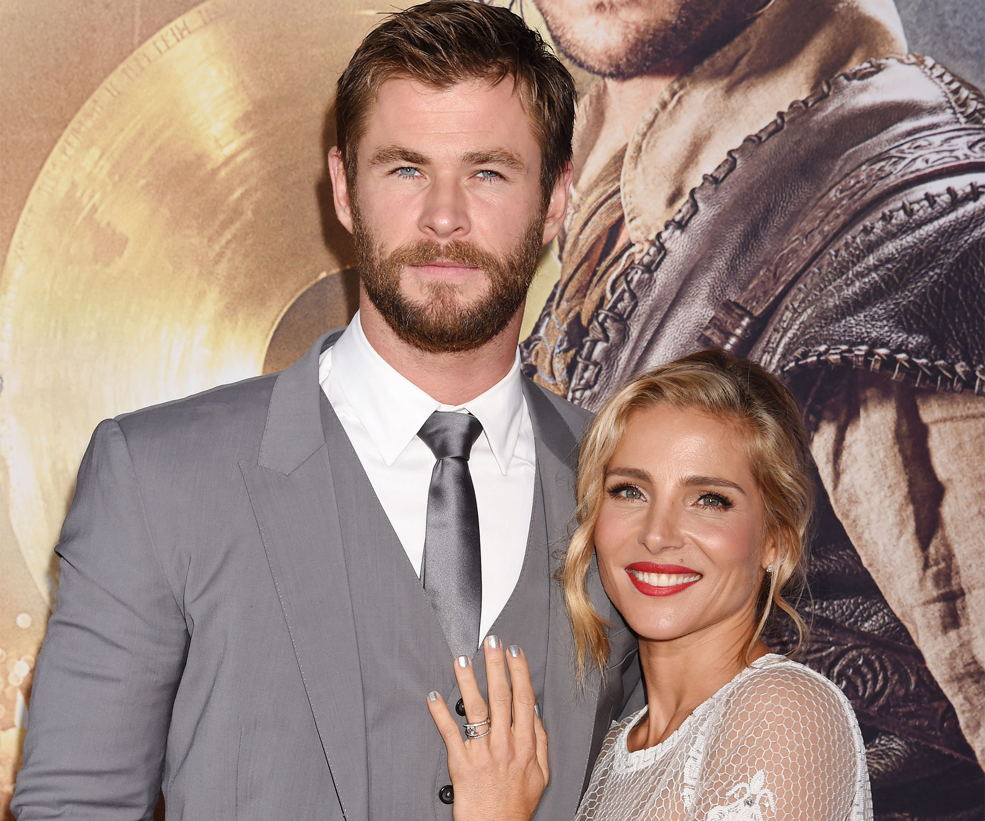 Hemsworth teases claims his marriage is over