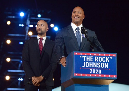 Dwayne 'The Rock' Johnson could run for president in 2020