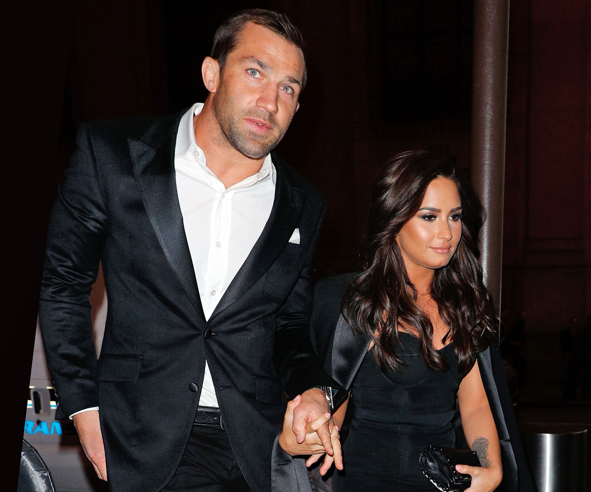 Demi Lovato Makes Romance With Luke Rockhold Instagram Official