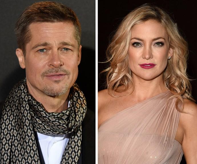SHOCK EXCLUSIVE: Is Kate Hudson having Brad Pitt's twins