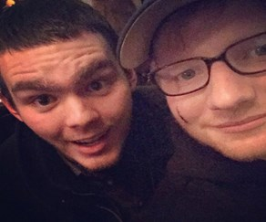 Princess Beatrice slices open Ed Sheeran's face with sword during knighting prank