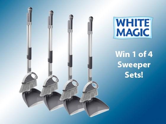 Win a White Magic Sweeper Set!