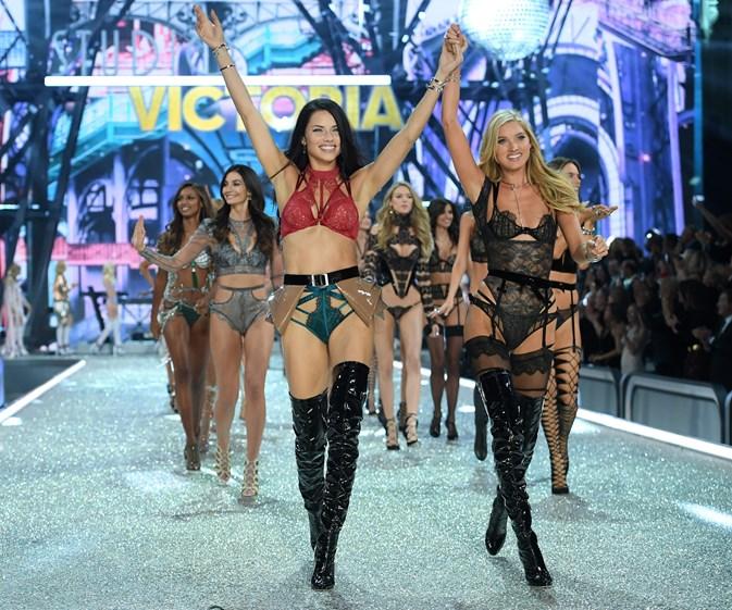 Glitz and glam at the Victoria's Secret Fashion Show