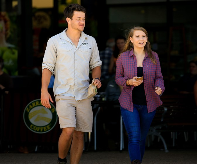 It's getting serious! Bindi and Chandler move in together