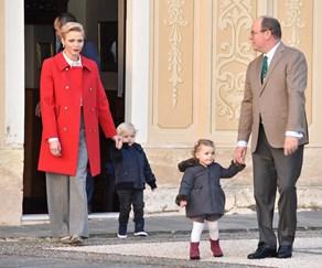 Monaco royal twins, Princess Charlene, Prince Albert