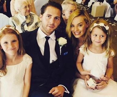 Margot Robbie's secret wedding