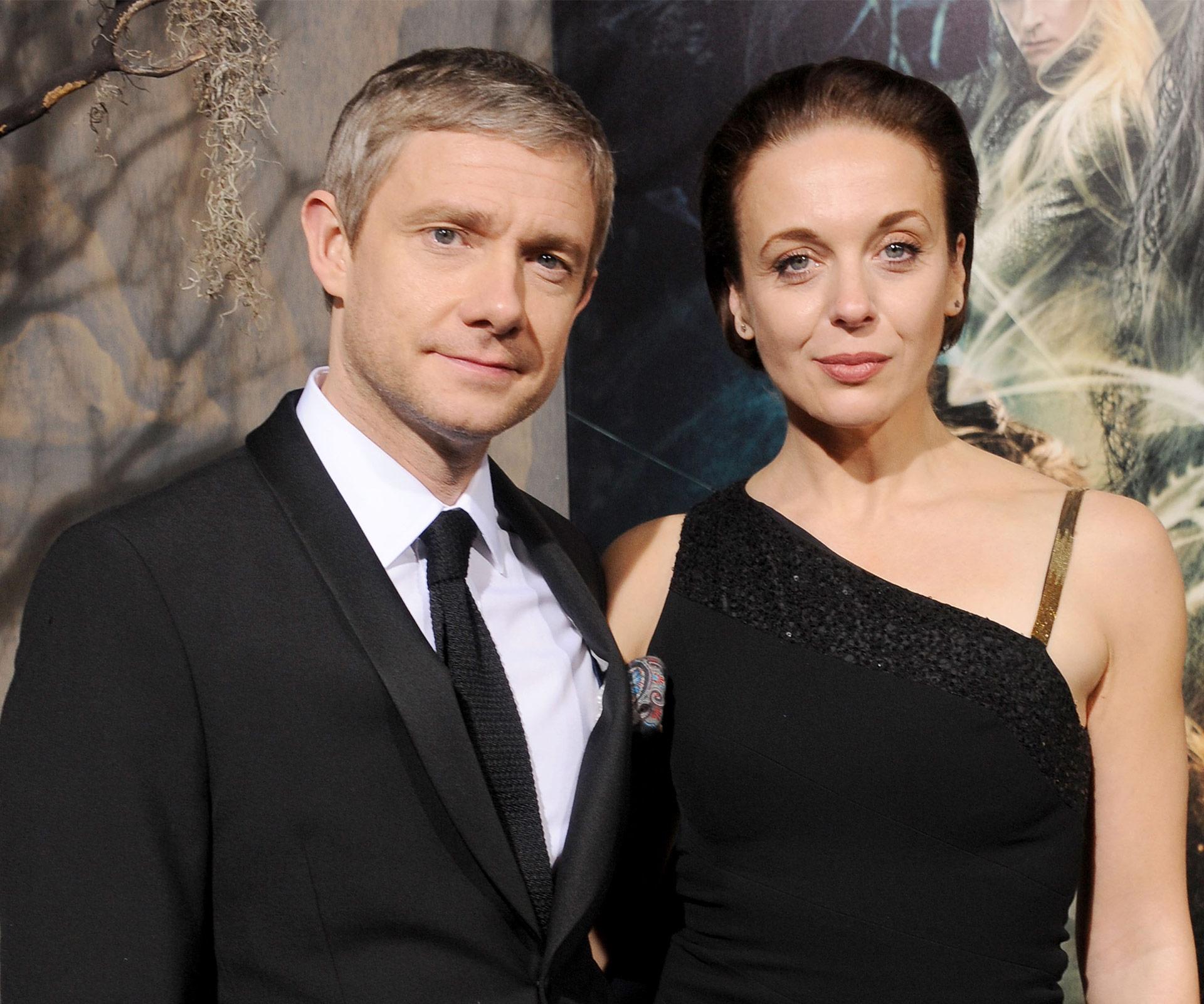 Martin Freeman, longtime partner Amanda Abbington split