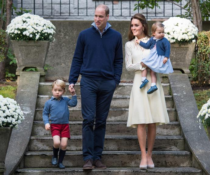 Prince William And Duchess Kate 2016 Christmas Card Now
