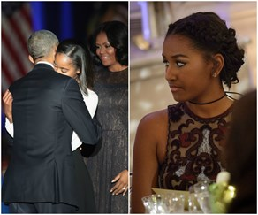 Why Sasha Obama MISSED her dad's farewell speech