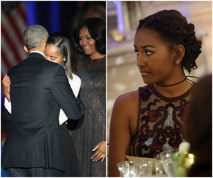 The real reason why Sasha Obama missed Barack's farewell speech