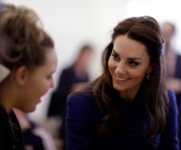Kate shared her own parenting trials and tribulations with the mums present at the event.