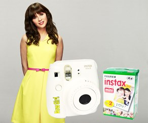 Win an Instax Mini camera thanks to New Girl