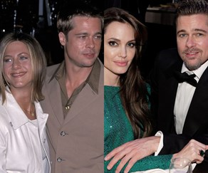 Brad Pitt Jennifer aniston angelina jolie
