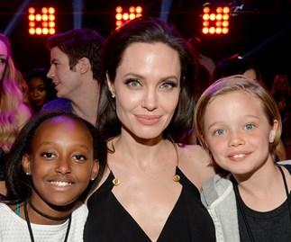 Zahara Jolie-Pitt, Angelina Jolie, Shiloh Jolie-Pitt