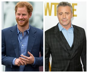 Prince Harry, Matt LeBlanc
