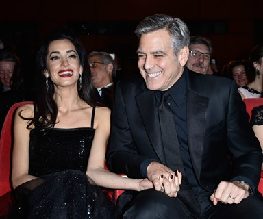 "Amal Clooney is ""pregnant with twins!"""
