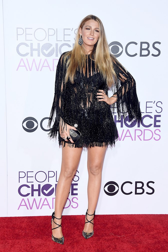 Stars at the People's Choice Awards