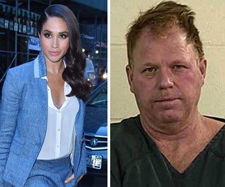 Meghan Markle and Tom Markle