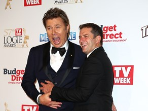 Too funny! Karl Stefanovic thinks Richard Wilkins' hair is hilarious!