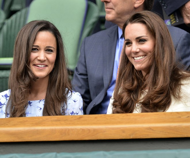 Pippa Middleton and the Duchess of Cambridge