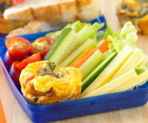 How to add more fruit and veges to your child's lunchbox