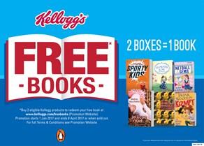 Kellogg's Free Books giveaway