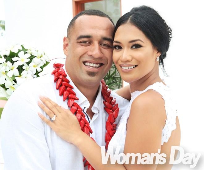 Sandra & Sam Kasiano's perfect wedding