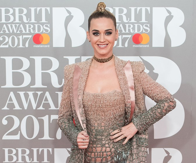 Stars on the red carpet at the BRIT Awards