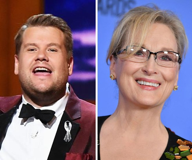 James Corden reveals what he really thinks about Meryl Streep