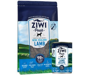 Win a three month supply of Ziwi Premium, natural dog and cat food