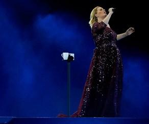 Adele in concert in Auckland.