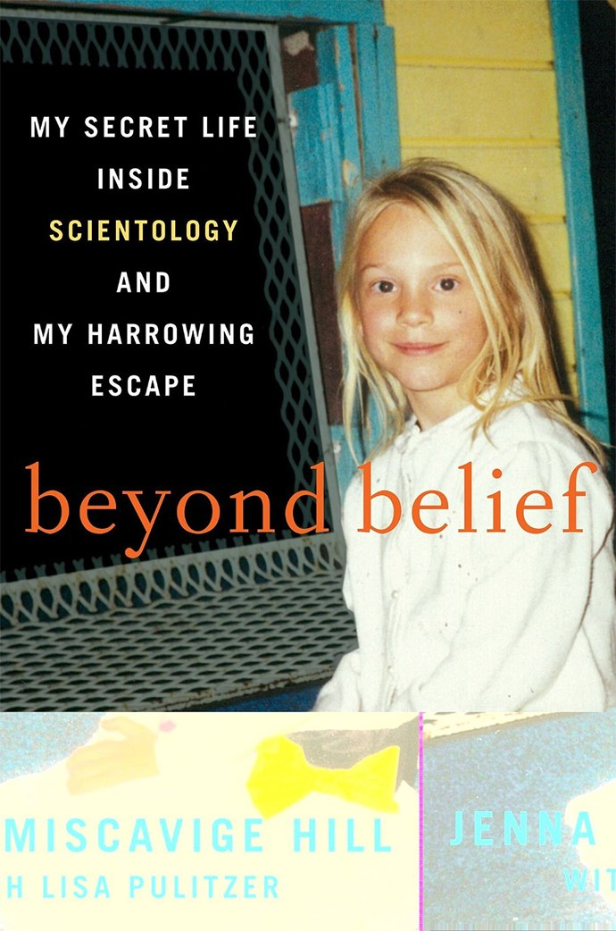 Jenna Miscavige Hill's book, *Beyond Belief*.