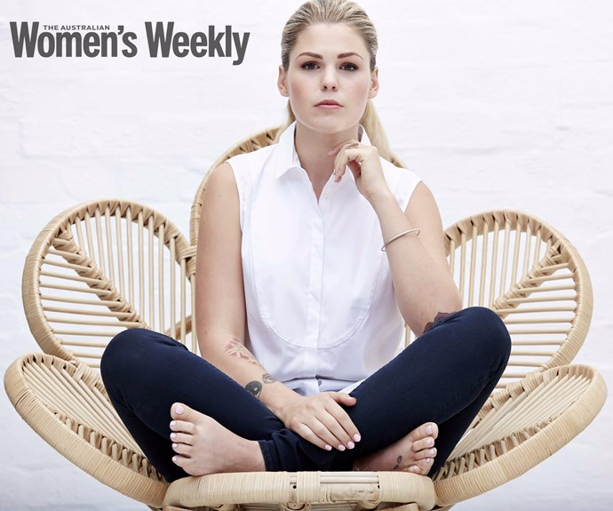 Belle Gibson. PHOTOGRAPHY: Alana Landsberry.