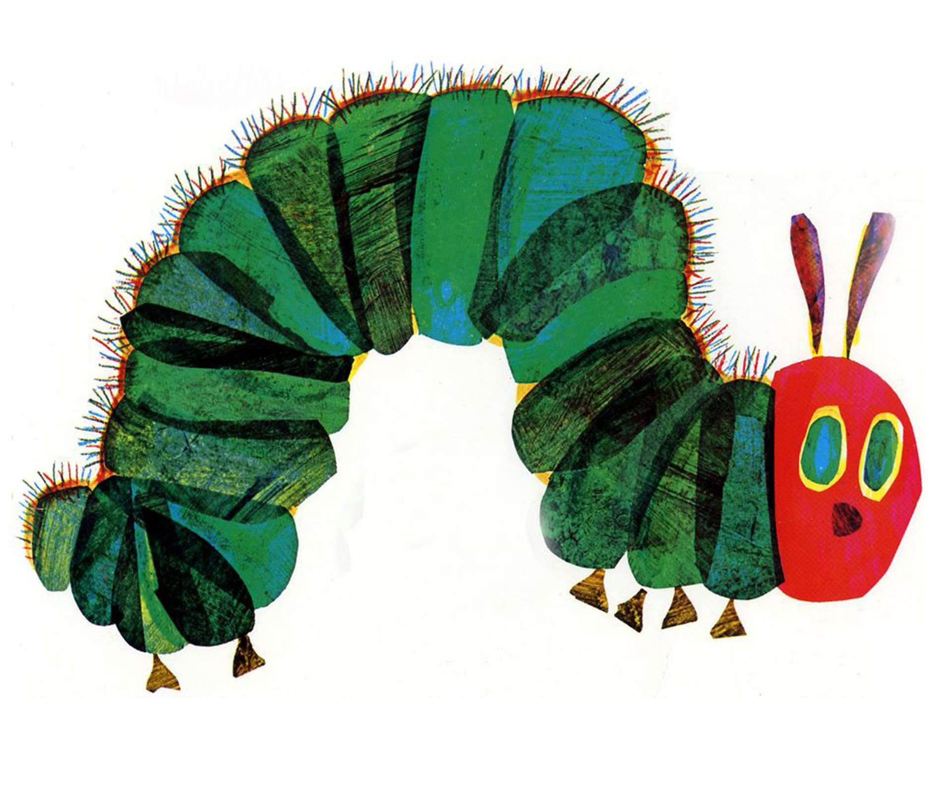 The Hungry Caterpillar made the cut, but it wasn't number one.