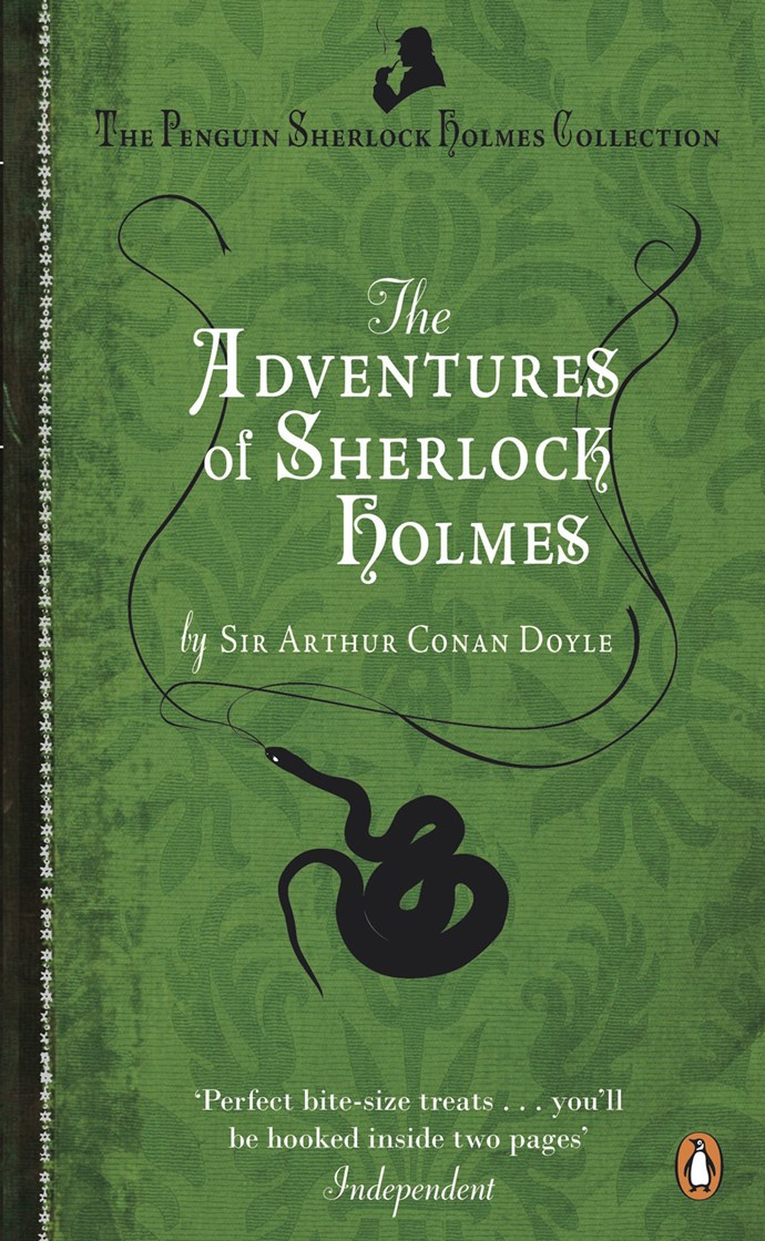 The Adventures of Sherlock Holmes, Arthur Conan Doyle – 60m