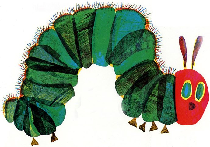 The Very Hungry Caterpillar, Eric Carle – 30m