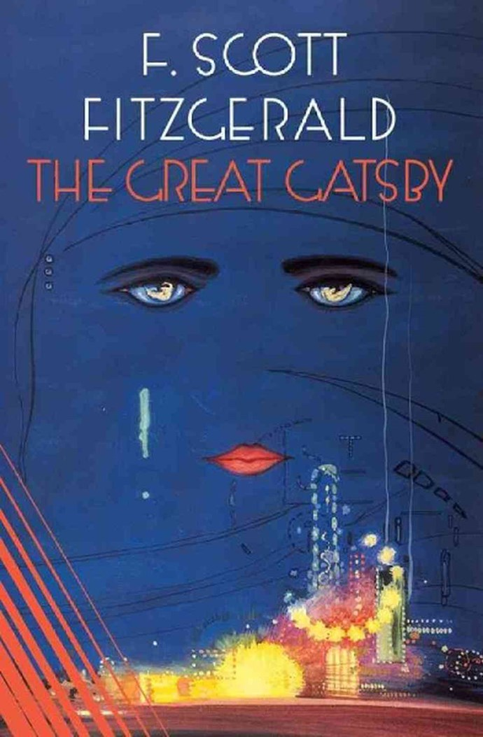 The Great Gatsby, F Scott Fitzgerald – 25m